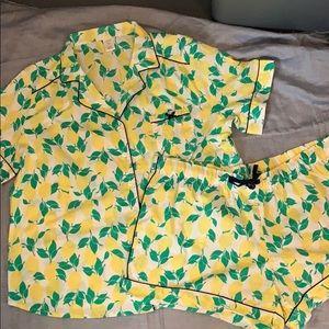 NWOT summer pajama set